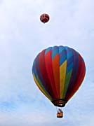 Brandie Newmon Hot Air Balloons canvas prints