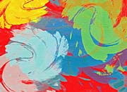 Brandie Newmon Abstract Motion in Color