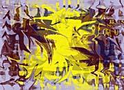 Brandie Newmon Tribal Dance Abstract canvas prints