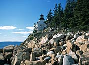 Brandie Newmon Bass Harbor Head Lighthouse canvas prints