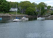 Brandie Newmon Fishing Boats In Ogunquit Maine canvas prints