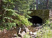 Brandie Newmon Rock Bridge at Mount Tom Massachusetts