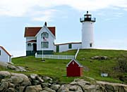 Brandie Newmon Cape Neddick Lighthouse York Maine canvas prints
