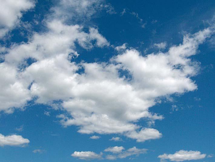 Brandie Newmon Cloudy Summer Day stretched canvas art print