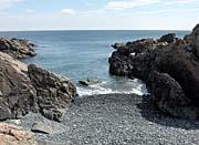 Brandie Newmon Rocks Along the Maine Coastline