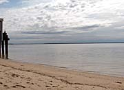 Brandie Newmon Sandy Beach In Provincetown MA canvas prints