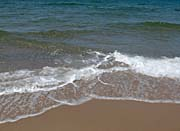 Brandie Newmon Sandy Beach in P-Town, Massachusetts