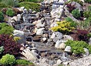 Brandie Newmon Waterfall In Ogunquit Maine canvas prints