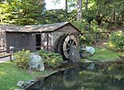 Brandie Newmon Rustic Water Mill Wheel canvas prints