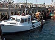 Brandie Newmon Fishing Boat at the Dock