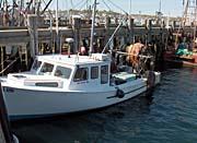Brandie Newmon Fishing Boat at the Dock