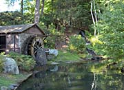 Brandie Newmon Rustic Water Wheel
