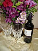 Kim O'Leary Photography Flowers and Wine