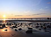 Kim O'Leary Photography Rising Sun, Lincolnville Beach, Maine