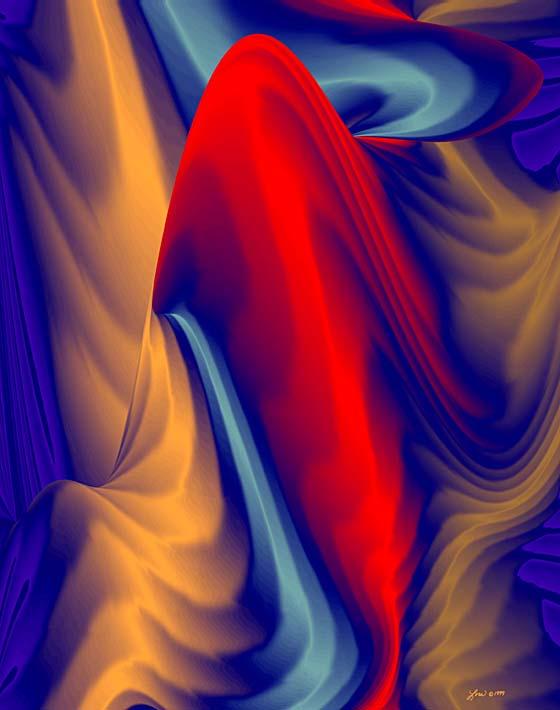 Lora Ashley Jelli stretched canvas art print