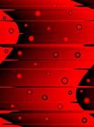 Lora Ashley Balance Red And Black canvas prints