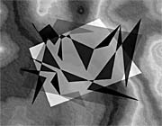 Lora Ashley Fragments Unite (Gray and Black)