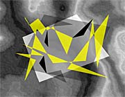Lora Ashley Fragments Unite (Yellow and Black)