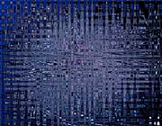 Lora Ashley Black and Blue Tapestry