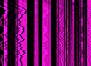 Lora Ashley Contemporary Magenta Abstract