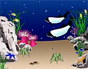 Lora Ashley Whales Swimming