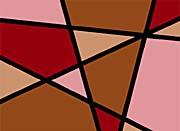 Lora Ashley Earthtone Abstract canvas prints