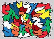 Lora Ashley Cheerful Abstract