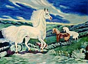 Lela Reagan The Proud White Horse