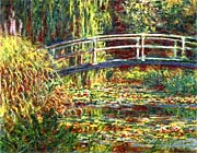Claude Monet Water Lilies Pink Harmony canvas prints