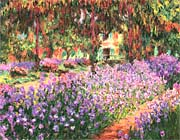 Claude Monet The Garden at Giverny