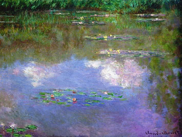 Claude Monet The Cloud stretched canvas art print