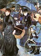 Pierre Auguste Renoir The Umbrellas canvas prints