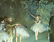 Edgar Degas Ballet Rehearsal canvas prints