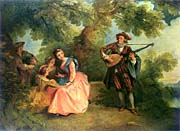Nicolas Lancret The Outdoor Concert