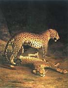 Jacques Laurent Agasse Two Leopards canvas prints