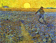Vincent Van Gogh The Sower canvas prints