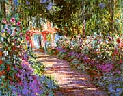 Claude Monet The Garden Path, Giverny