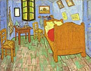 Vincent Van Gogh Vincent's Bedroom at Arles