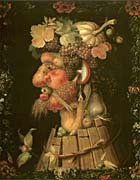 Giuseppe Arcimboldo Autumn canvas prints