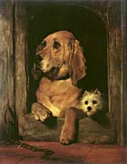 Sir Edwin Landseer Dignity and Impudence