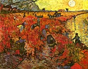 Vincent Van Gogh The Red Vineyard
