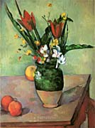 Paul Cezanne The Vase of Tulips