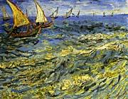 Vincent van Gogh Seascape at Saintes-Maries