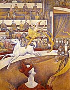 Georges Seurat The Circus canvas prints