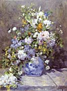 Pierre Auguste Renoir Spring Bouquet canvas prints