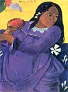 Paul Gauguin Woman With Mango canvas prints