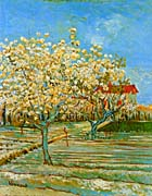 Vincent Van Gogh Orchard in Blossom