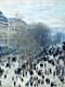 Claude Monet Prints - Boulevard des Capucines