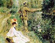 Pierre Auguste Renoir The Angler