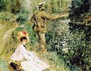 Pierre Auguste Renoir The Angler canvas prints